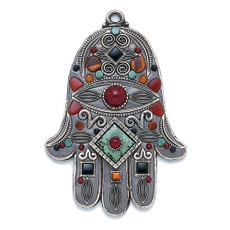 Michal Golan Wall Hamsa Evil Eye