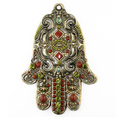 Michal Golan Wall Hamsa Evil Eye Protection