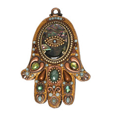 Evil Eye Wall Hamsa By Golan Jewelry