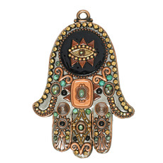 Michal Golan Wall Hamsa Against Evil Eye