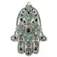 Michal Golan Jewelry Evil Eye Wall Hamsa