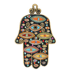 Michal Golan Hamsa Against Evil Eye
