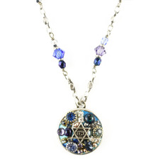 Michal Golan Round Pendant Necklace