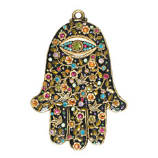 Michal Golan Hamsa Wall Evil Eye