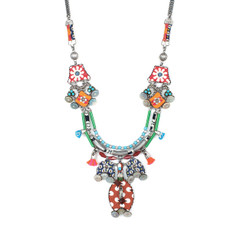 Ayala Bar Jewelry Serape Necklace - One Left