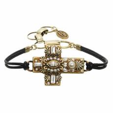 Crystals Cross Bracelet