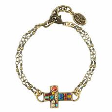 Michal Golan Bracelet Cross