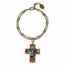 Cross bracelet from Michal Golan Jewelry