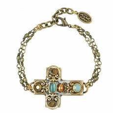 Michal Golan Cross Bracelet