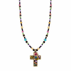 Night Garden Michal Golan Cross Necklace