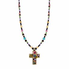 Night Garden Michal Golan Cross Necklace