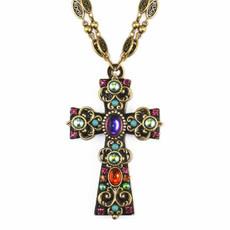 Michal Golan Kalaeidoscope Cross Necklace