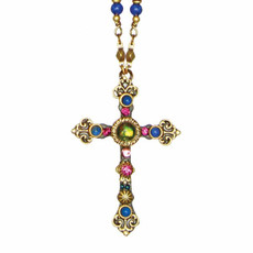 Michal Golan Florance Necklace Cross