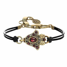 Small Gray Hamsa Bracelet By Michal Golan