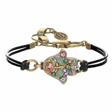 Small Fusia Hamsa Bracelet By Michal Golan