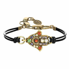 Michal Golan Small Gold Hamsa Bracelet