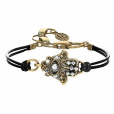 Michal Golan Small Gray Hamsa Bracelet