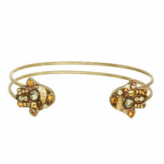 Michal Golan Adjustable Hamsa Cuff Bracelet