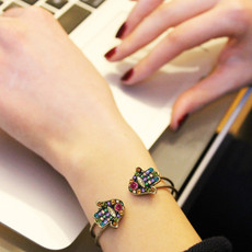 Michal Golan Black Multibright Hamsa Bracelet