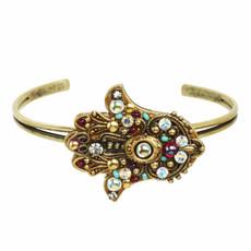 Michal Golan Sivler Adjustable Bracelet