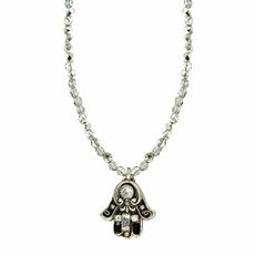 Beaded Chain Golan Hamsa