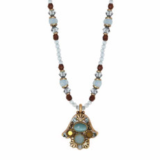 Small Cat's Eye Hamsa