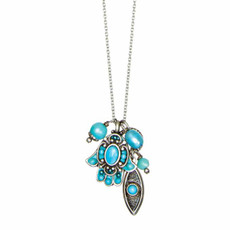 Turquoise Michal Golan Jewelry Hamsa Necklace