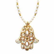 Michal Golan Jewelry Hamsa Necklace