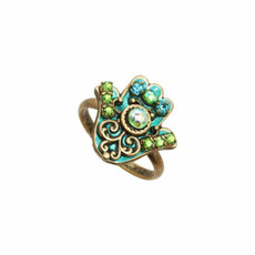 Michal Golan Jewelry Hamsa Adjustable Ring