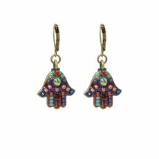 Michal Golan Hamsa Earrings