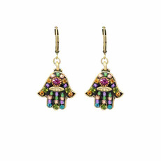 Michal Golan Multiblack  Earrings Hamsa