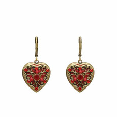 Heart earrings by Michal Golan Jewelry