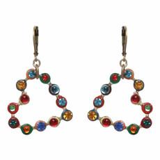 Multicolor Michal Golan Jewelry Heart Earrings