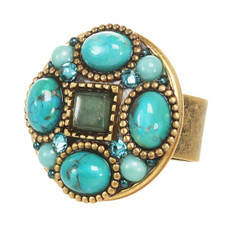 Nile adjustable ring from Michal Golan Jewelry