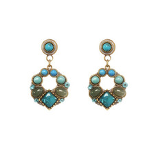 Turquoise Michal Golan Jewelry Nile Earrings