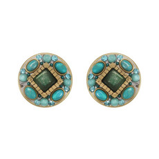 Michal Golan Turquoise Nile Earring