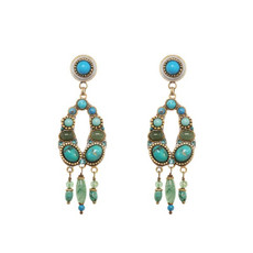 Turquoise Michal Golan - Nile Earrings