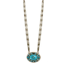 Turquoise Michal Golan Nile style Necklace