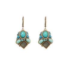 Turquoise Michal Golan Nile Earrings