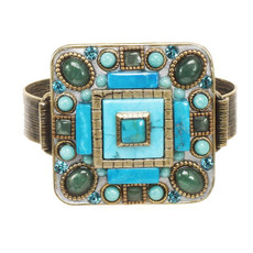 Michal Golan Adjustable Ring Nile - One Left