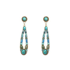 Nile Turquoise earrings by Michal Golan Jewelry