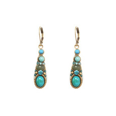 Michal Golan Turquoise Nile Earrings