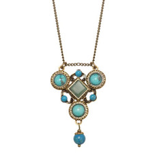 Michal Golan Turquoise Necklace Nile