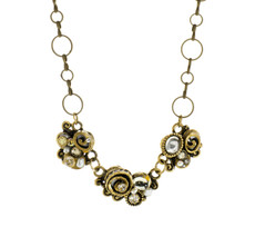 Michal Golan Three Piece Swirl Necklace