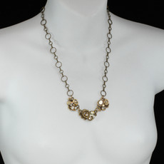 Michal Golan Three Piece Swirl Necklace - second image