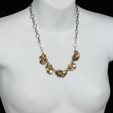 Michal Golan Necklace Five Piece Swirl - second image