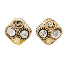 Michal Golan Jewelry Medium Square Earrings