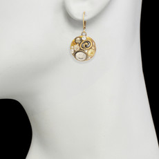 Medium Round earrings from Michal Golan Jewelry - second image