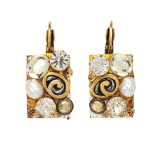 Michal Golan Earth Orange Earrings