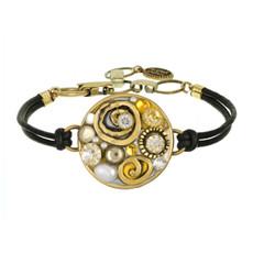 Michal Golan Round Pendant Bracelet